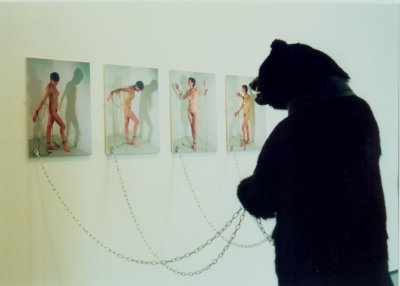 'Dancing Bear, Dancing Bare' - By Janice Thwaites
